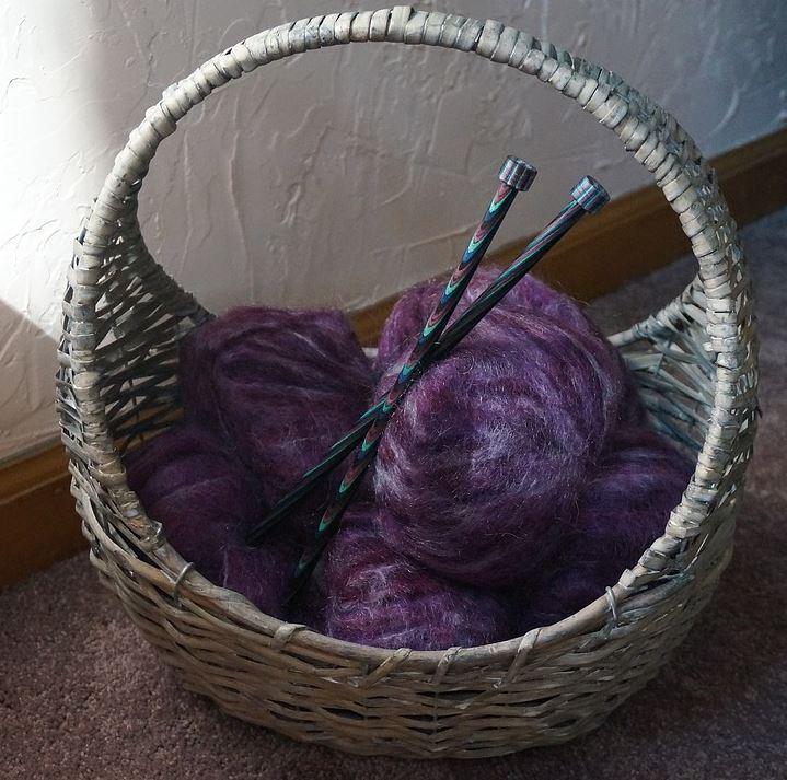 Mohair Wolle gilt als besonders hochwertig