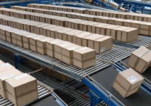 Rechtliche Ware sicher verpacken